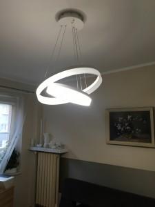 Hanging lamp Milagro RING LED 065 small 2