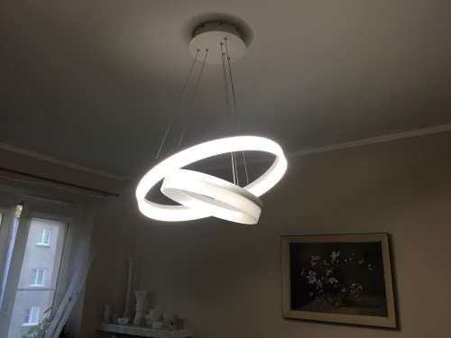 Hanging lamp Milagro RING LED 065