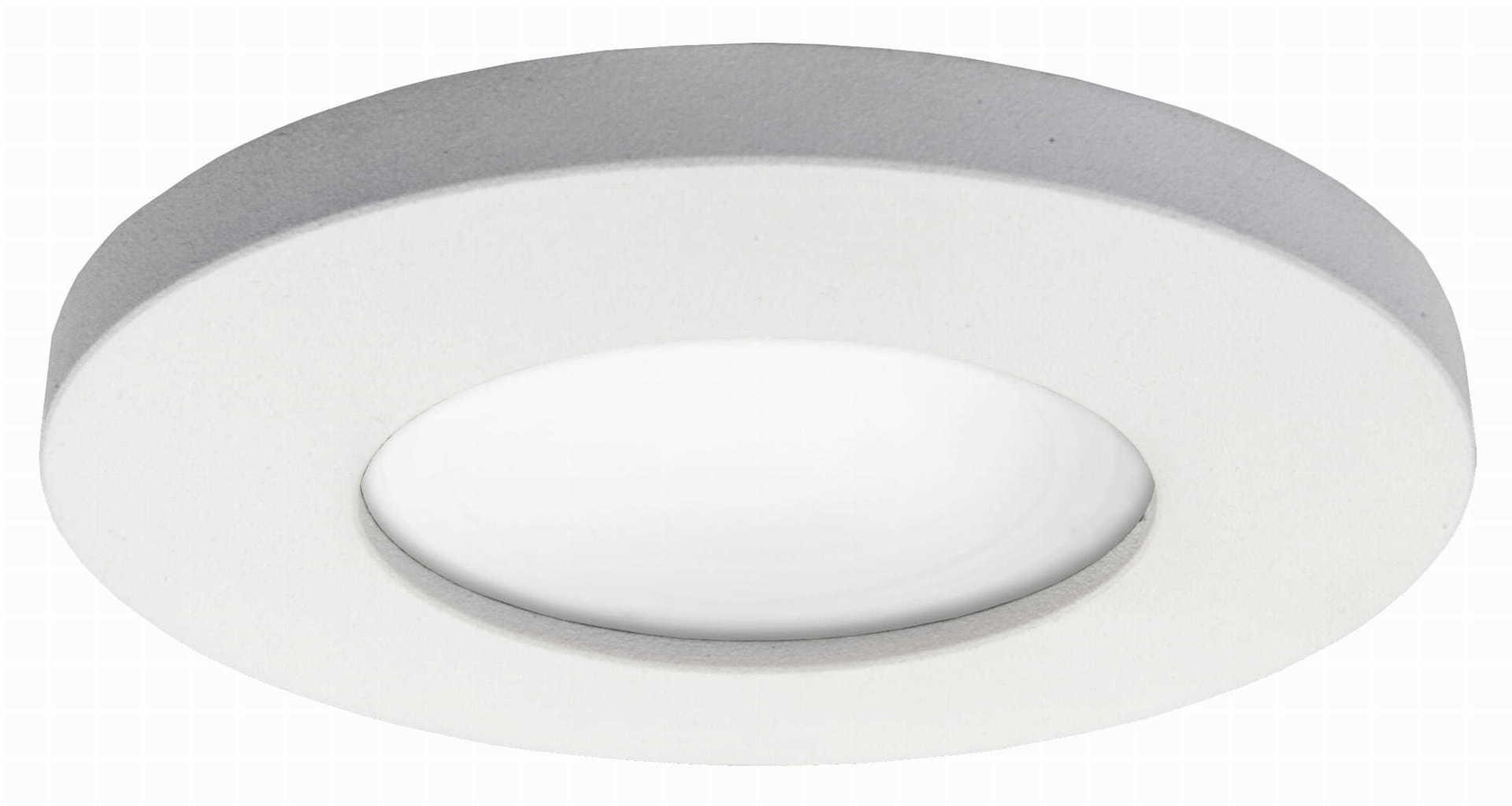 Flush mounted immersive Lagos white IP65