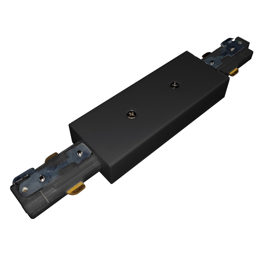 Central power supply for busbars - black