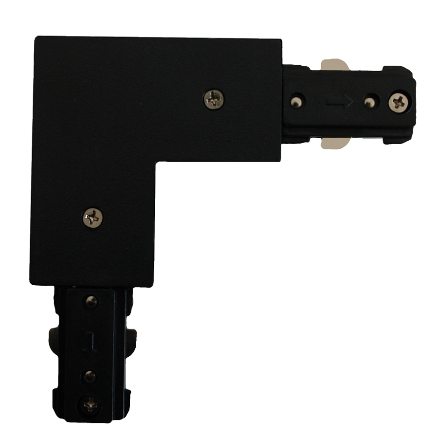 L black connector for busbars
