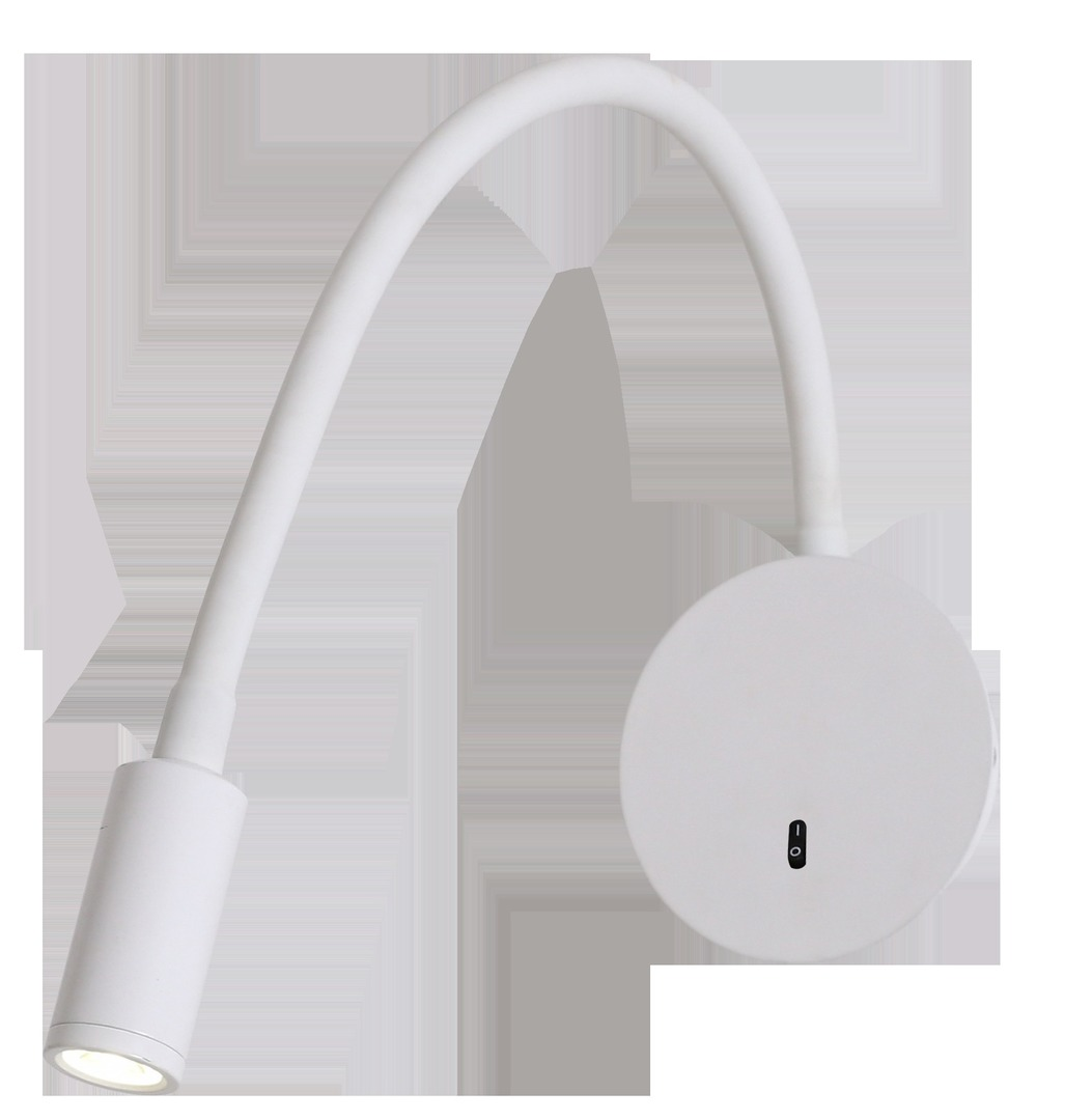 Senise white wall lamp