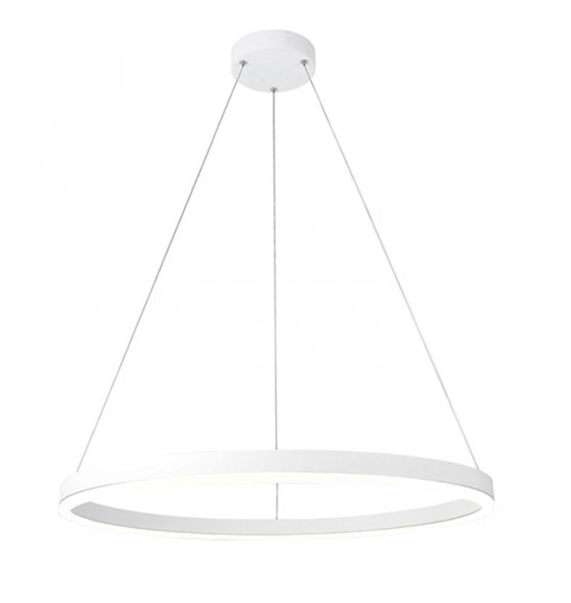 Modern Circle Pendant Lamp Círculo Led Ø 60