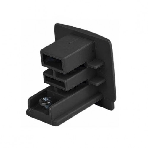 End to black busbars (end cap)