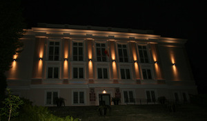 External wall lamp for the facade Adela 7001 BL 2x60W small 4