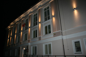 External wall lamp for the facade Adela 7001 BL 2x60W small 5