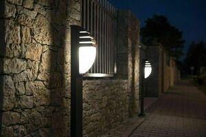 Lighting post City 11836 R AL aluminum 99 cm small 2