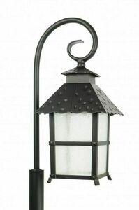 A standing garden lamp with an elegant display (86 cm) - CADIZ K 5002/3 / Z small 1