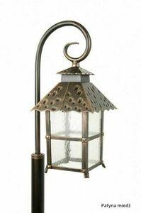 A standing garden lamp with an elegant display (86 cm) - CADIZ K 5002/3 / Z small 4