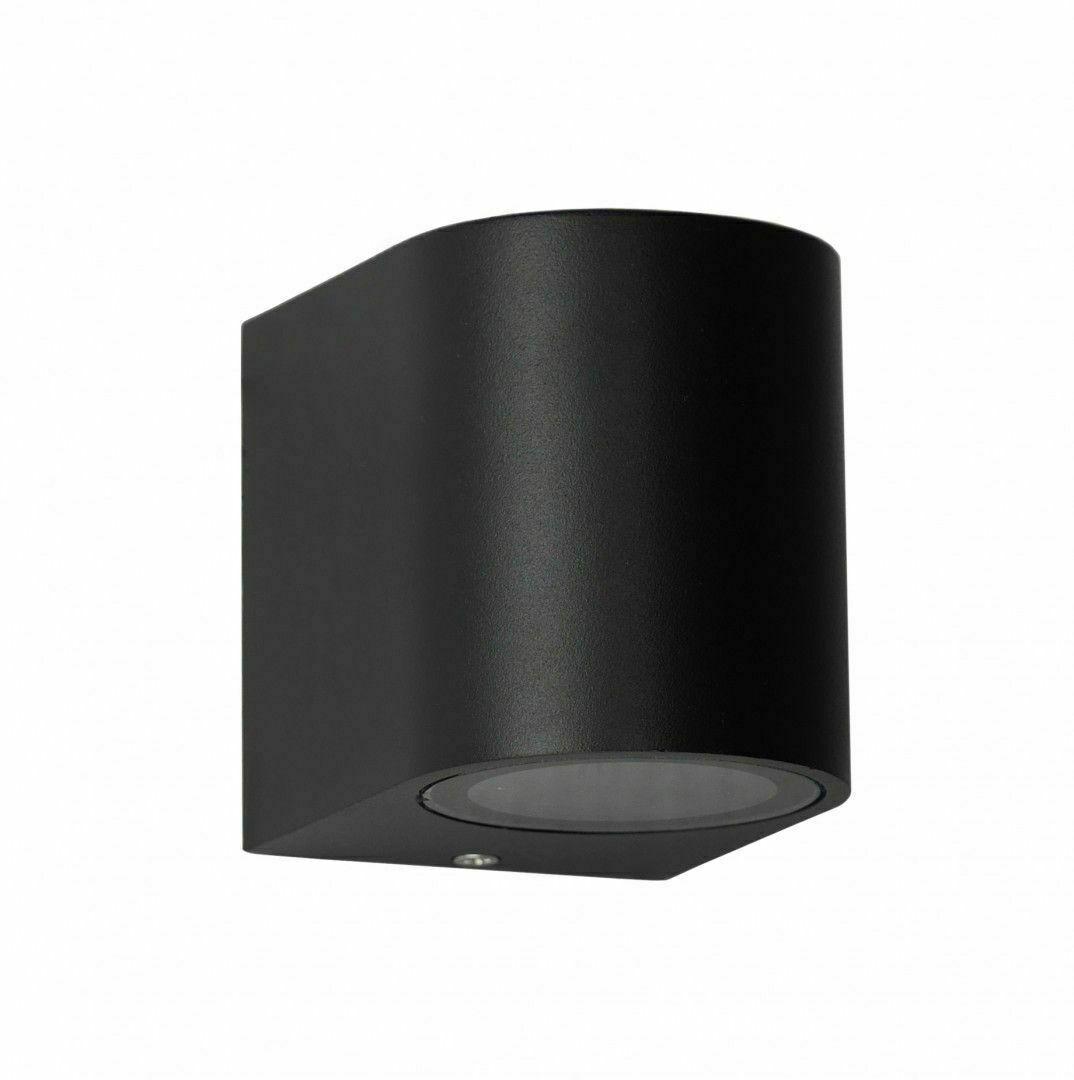 Facade wall lamp MINI Black 8 cm