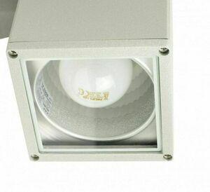 Modern outdoor wall lamp Adela 8001 AL 2x60W small 2
