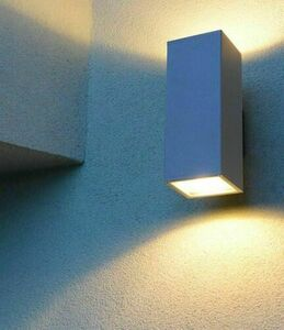 Modern outdoor wall lamp Adela 8001 AL 2x60W small 4