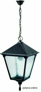 Outdoor lamp hanging RETRO SQUARE K 1018/1 / BD KW small 1