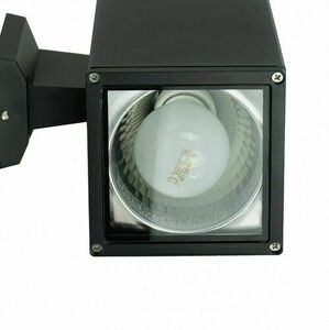 Modern outdoor wall lamp Adela 8001 BL 2x60W small 2