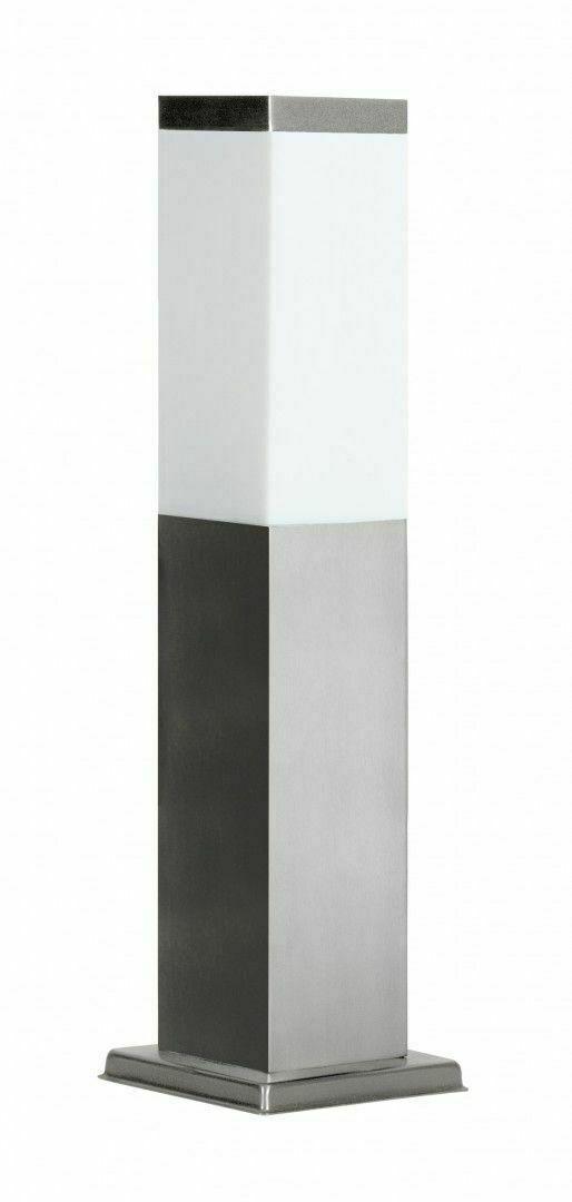 Standing garden lamp SUMA INOX SQUARE 45 cm