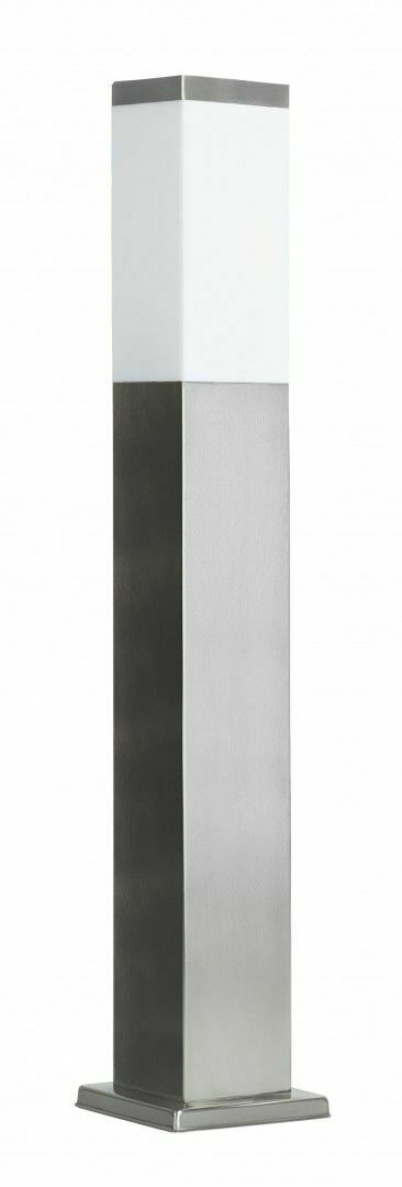 Post Light INOX square 65 cm