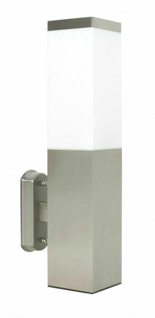 External wall lamp INOX SQUARE 34 cm