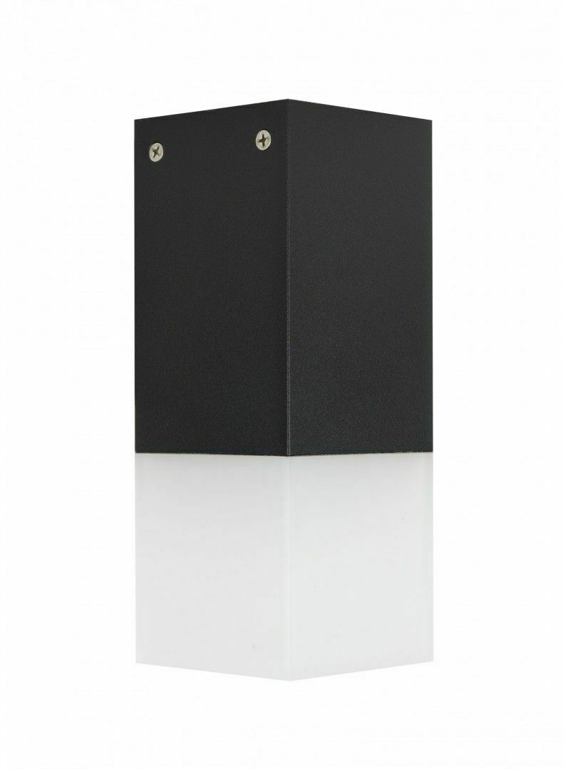 Outdoor ceiling lamp CUBE CB-S BL