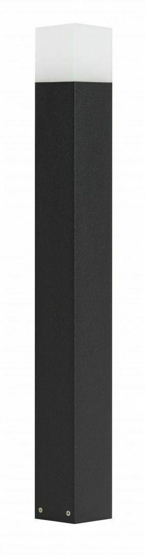 Standing Garden Lamp CUBE black 83 cm