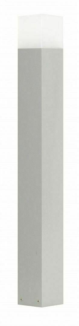 Garden Lamp Standing Post Gray SUMA CUBE CB-830 AL