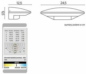 Outdoor LED wall lamp UFO 91303-LED small 3