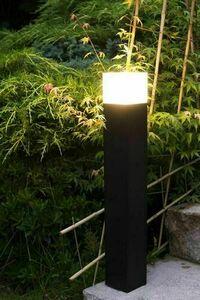 Standing Garden Lamp CUBE 58 cm, dark gray small 2
