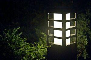 Rado III 1 BL post garden lamp small 2
