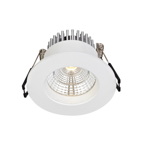 ARES eyelet ceiling Single Spot White