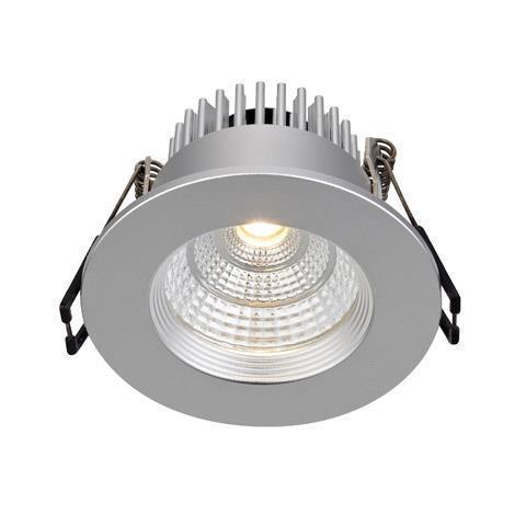 ARES eyelet ceiling Single Spot Silver