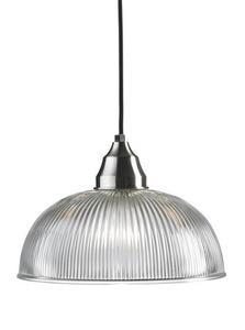 ÅSNEN Wisząca 1L 30cm Steel / Transparent small 1