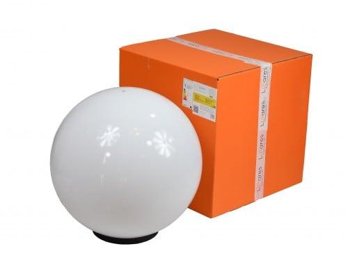 Garden lamp Luna ball 50 cm, garden ball, shining sphere, classic style, white