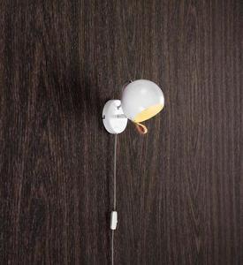 BALL Wall lamp 1L White small 1