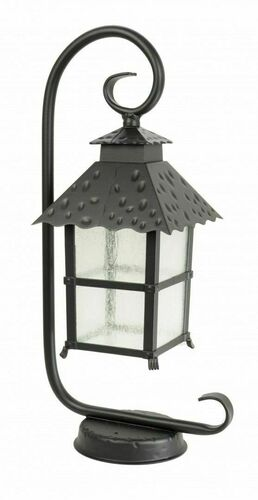 A garden lantern on a pendant with a stained glass window (53 cm) - CADIZ K 4011/1 / Z