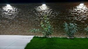 Surface mounted outdoor lamp MUR PC 1502A 3000K small 3