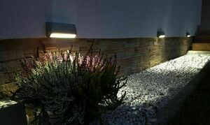 Surface mounted outdoor lamp MUR PC 1502A 3000K small 4