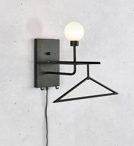 CARSON Wall lamp Black USB small 1