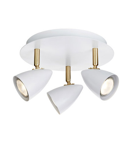 CIRO Ceiling Ceiling 3L White / Gold Brushed