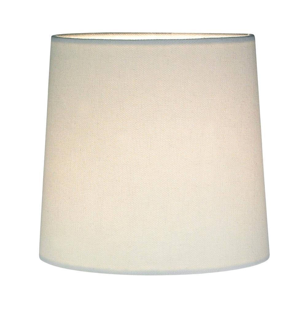 CYLINDER Lampshade White Canvas