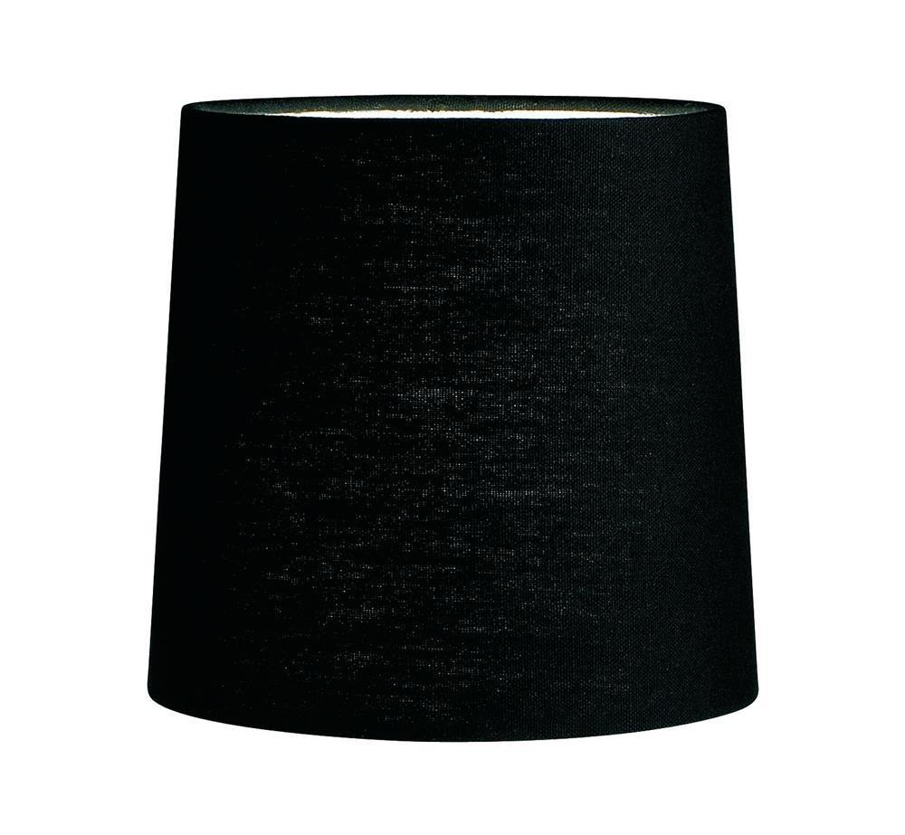 CYLINDER Lampshade Black Canvas