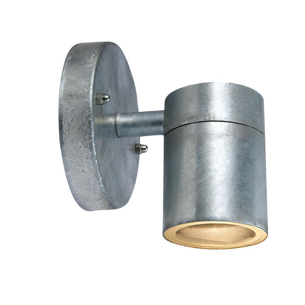 DAN Wall lamp 1L Galvanized