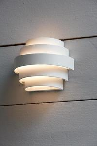 ETAGE Wall lamp IP44 White small 2