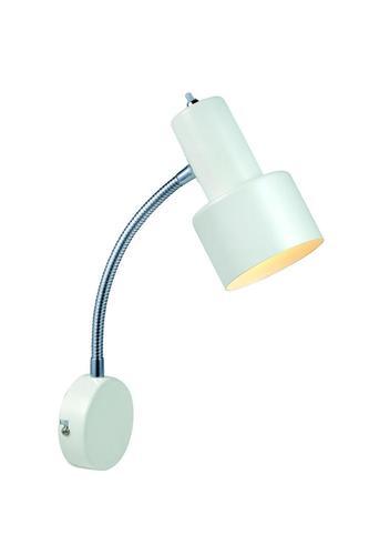 GLOMMEN Wall lamp 1L White