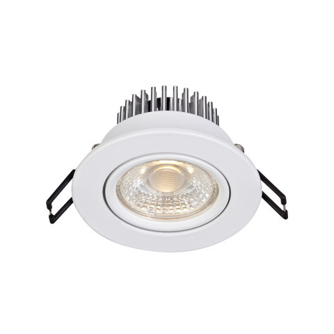 HERA eyelet ceiling Single Spot White