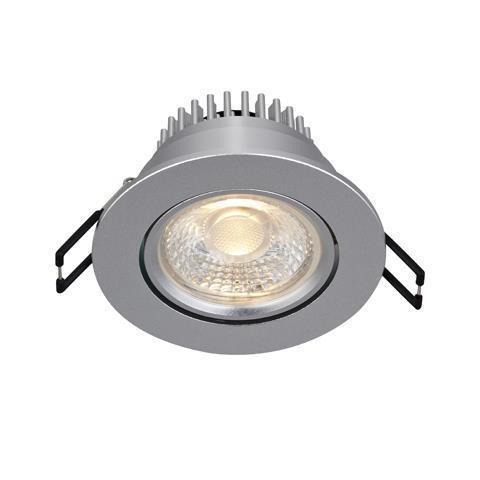 HERA eyelet ceiling Single Spot Silver