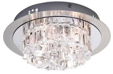 KÄRRADAL Ceiling 4L Steel / Chrome IP21