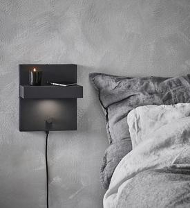 KUBIK Wall lamp USB Black small 0