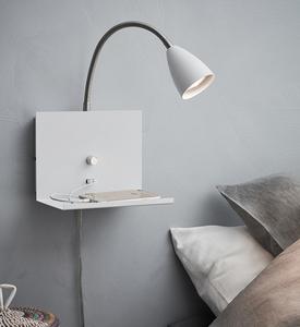 LOGI Wall lamp 1L White small 1