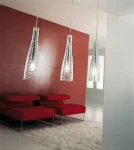 Hanging lamp Itre Class S40 Transparent small 3