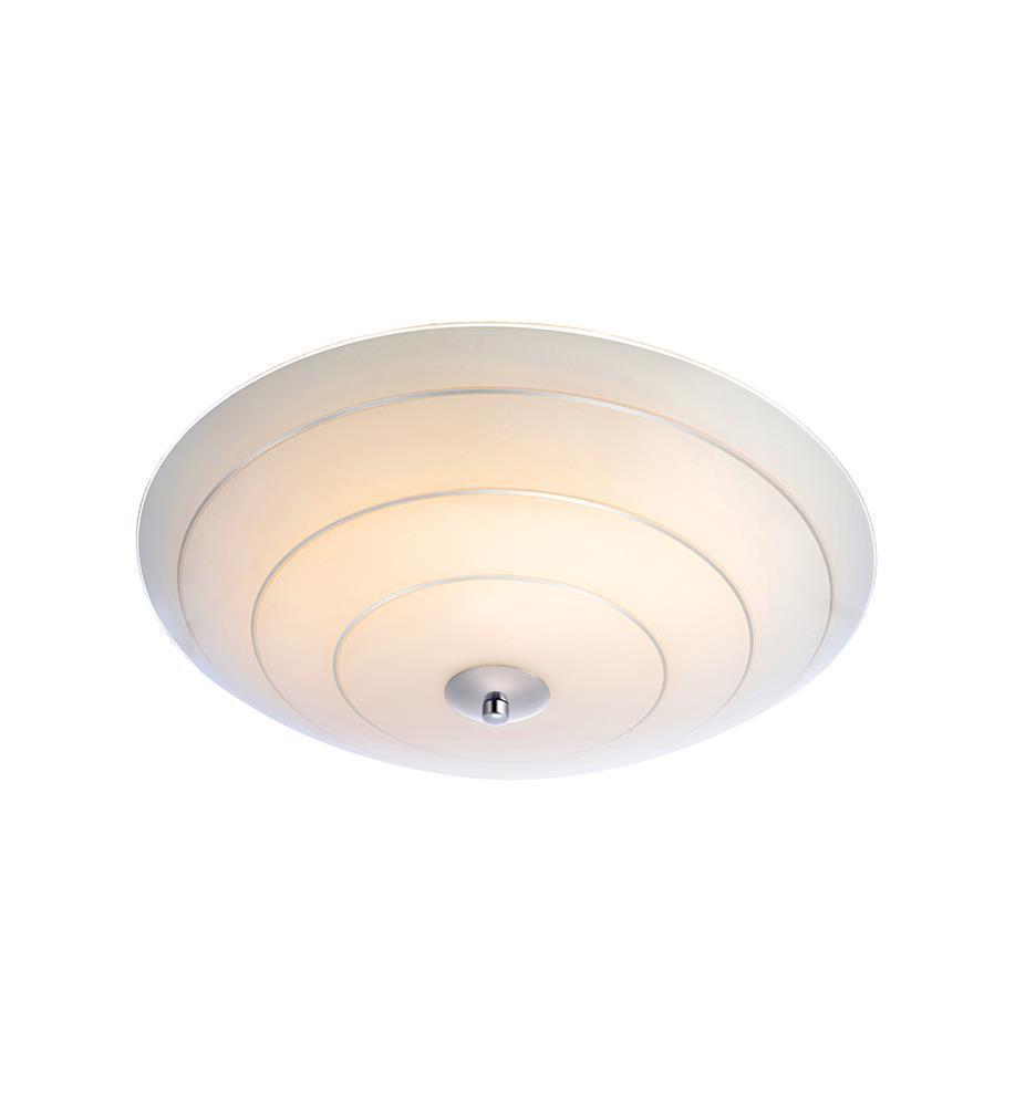 LYON plafon 43cm White / Silver