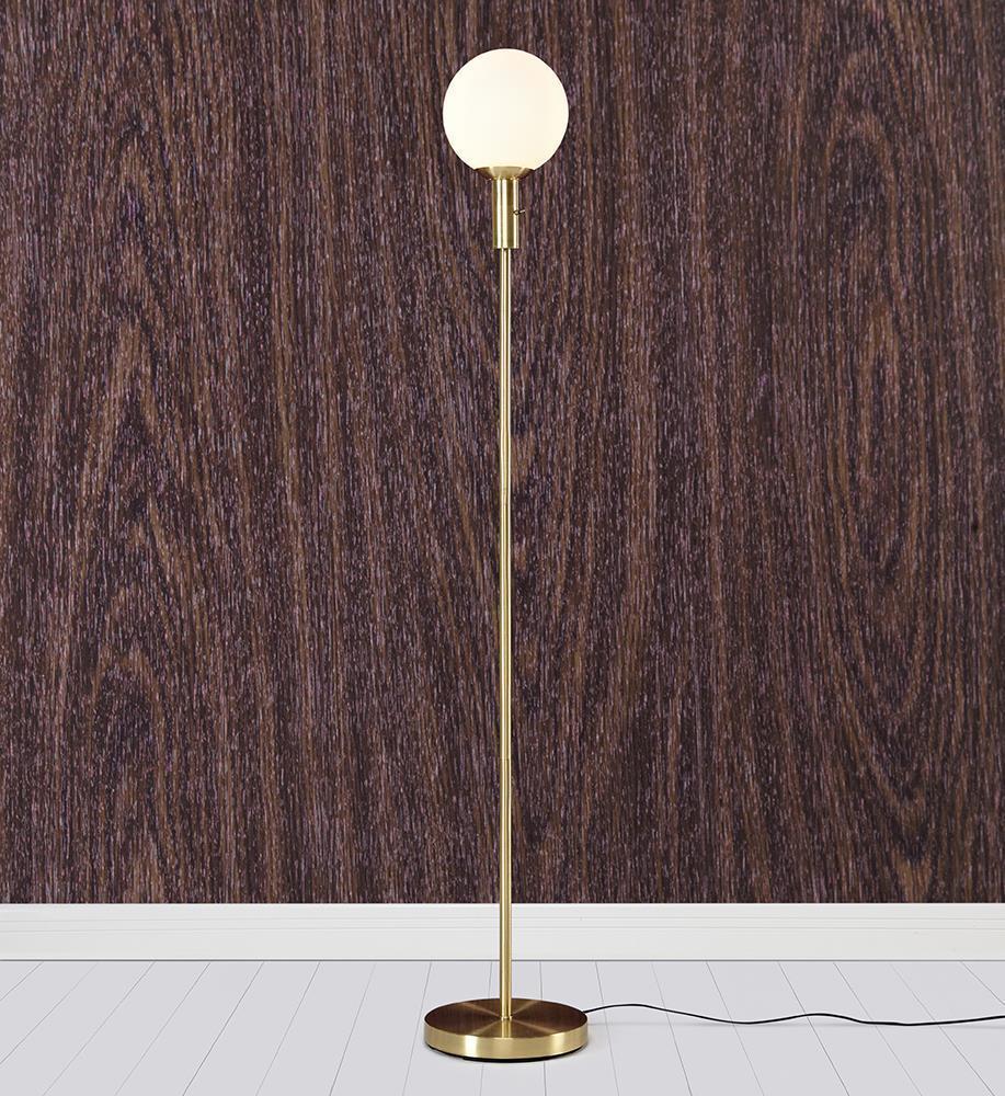 MINNA Floor 1L Brass Brushed / White